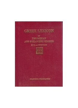 GREEK LEXICON OF THE ROMAN AND BYZANTINE PERIODS