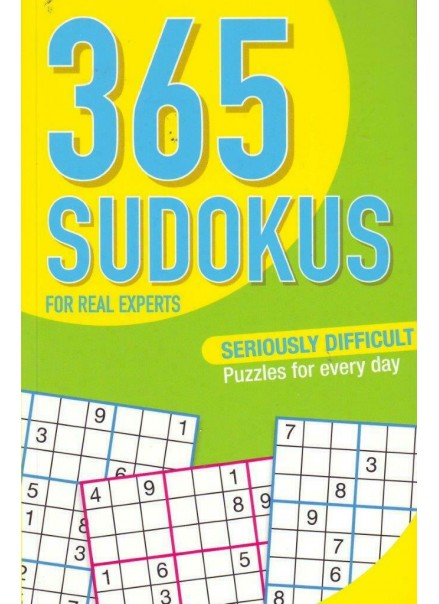 365 SUDOKUS – FOR REAL EXPERTS