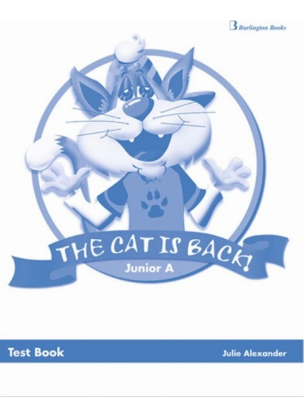 THE CAT IS BACK JUNIOR A (TEST BOOK)