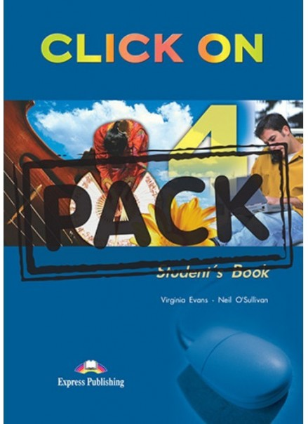 CLICK ON 4 (STUDENT'S BOOK + CD)