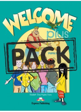 WELCOME PLUS 3 (STUDENT'S BOOK + CD)