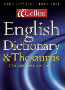 COLLINS ENGLISH DICTIONARY AND THESAURUS (HARDCOVER)