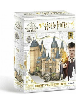 HARRY POTTER HOGWARTS ASTRONOMY TOWER ΠΑΖΛ 3D 243 ΤΕΜ. (CUFU00301)