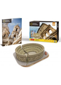 CUBINFUN 3D ΠΑΖΛ NATIONAL GEOGRAPHIC ΚΟΛΟΣΣΑΙΟ 131 ΤΕΜ (DS0976h)
